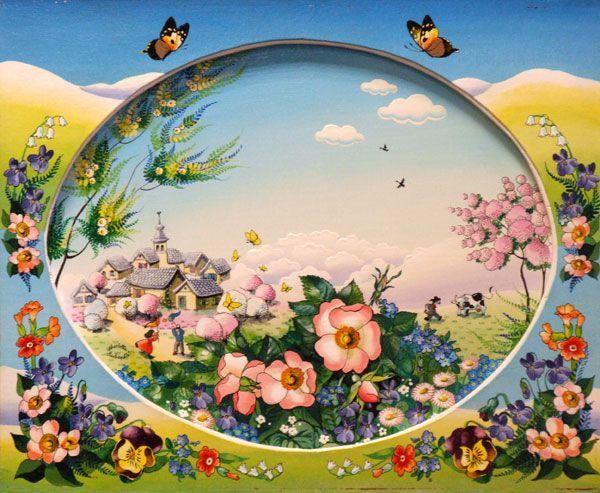 Tags : chien pensée coeur fleur fleurs argent jardin